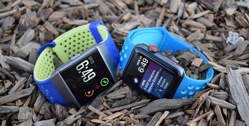 comparatif fitbit ionic apple watch series 3