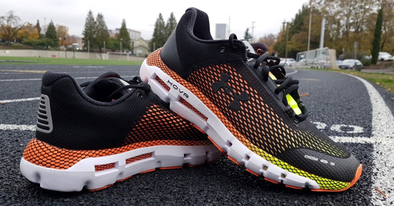 test chaussures under armour hover infinite