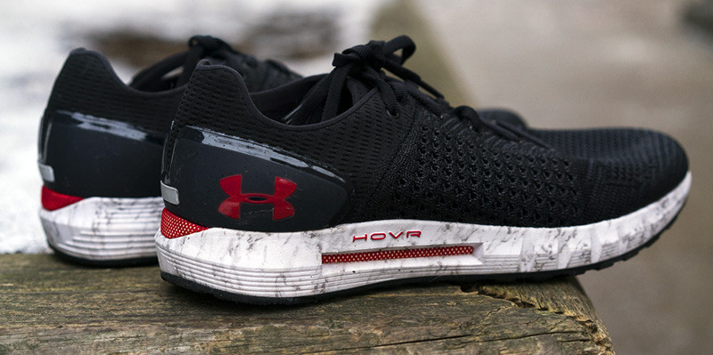 test chaussures under armour hover sonic