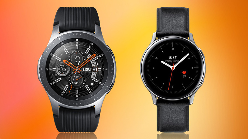 comparatif Samsung Galaxy Watch Samsung Galaxy Watch Active 2