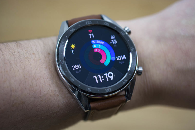 test huawei watch gt