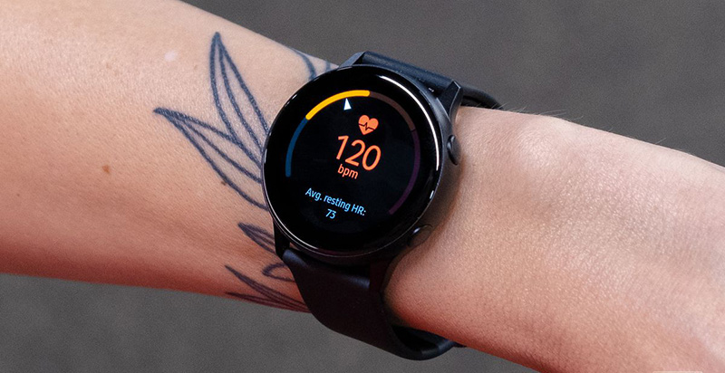 amsung galaxy watch active pas chere