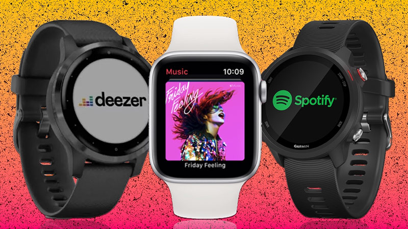 meilleures montres running avec musique