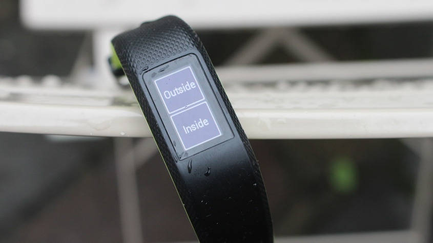 test garmin vivosport