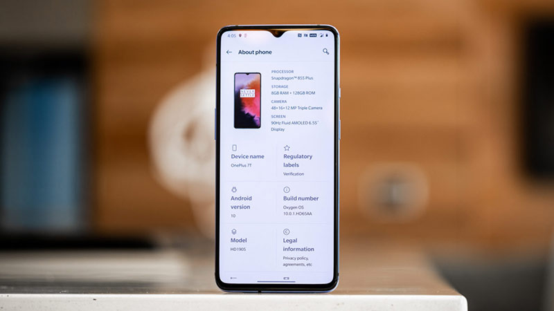 performances oneplus 7t