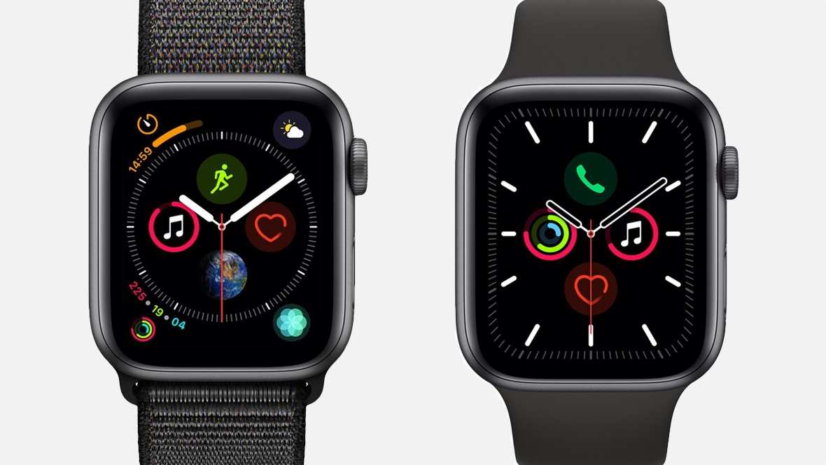 comparatif apple watch series 4 et Series 5