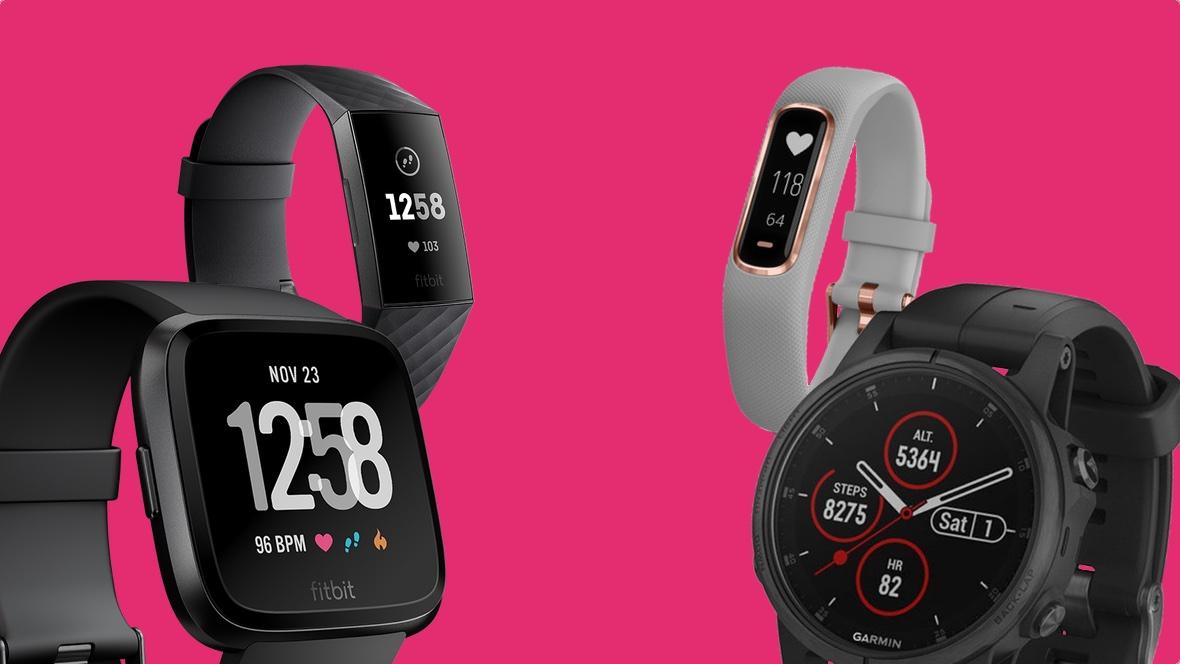 comparatif montres connectées garmin et fitbit