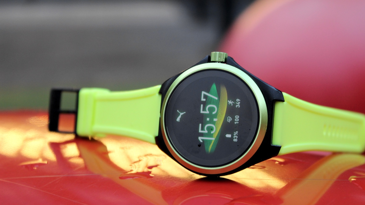 test montre connectee puma