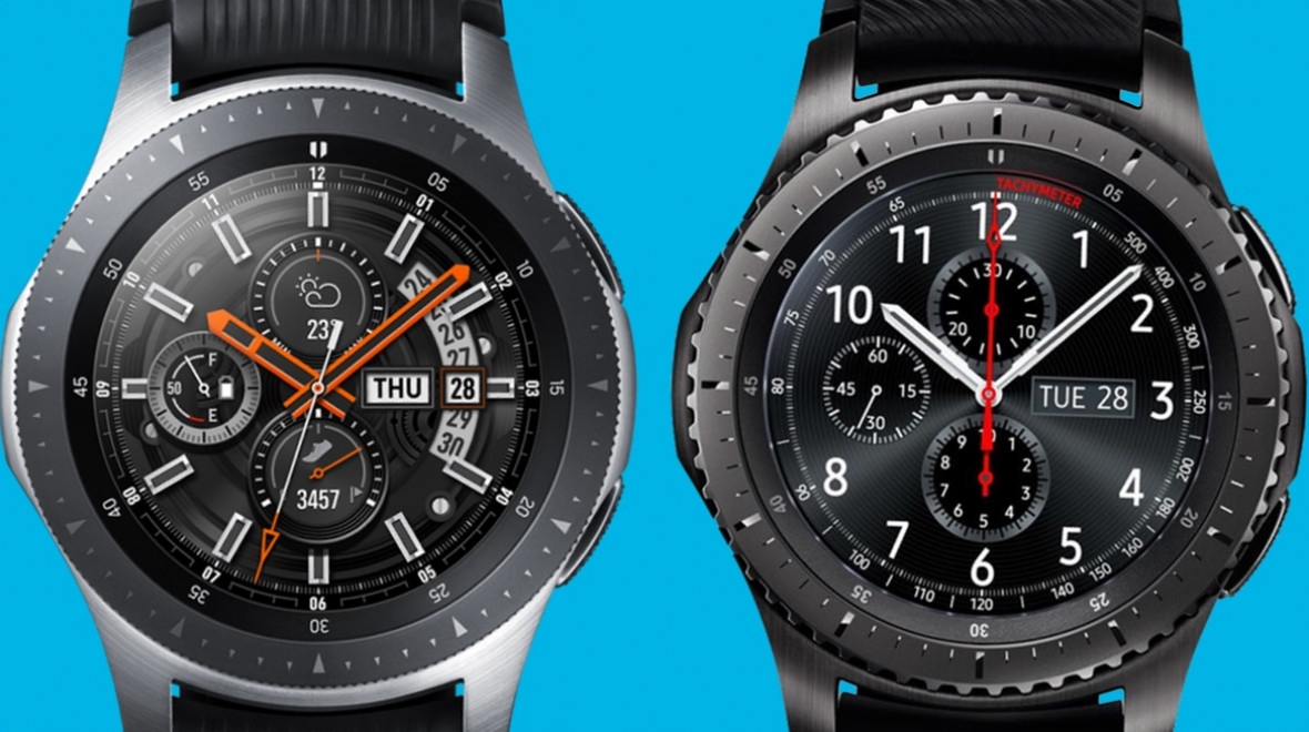 comparatif samsung galaxy watch et samsung gear s3