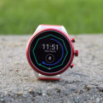 test montre connectée fossil sport