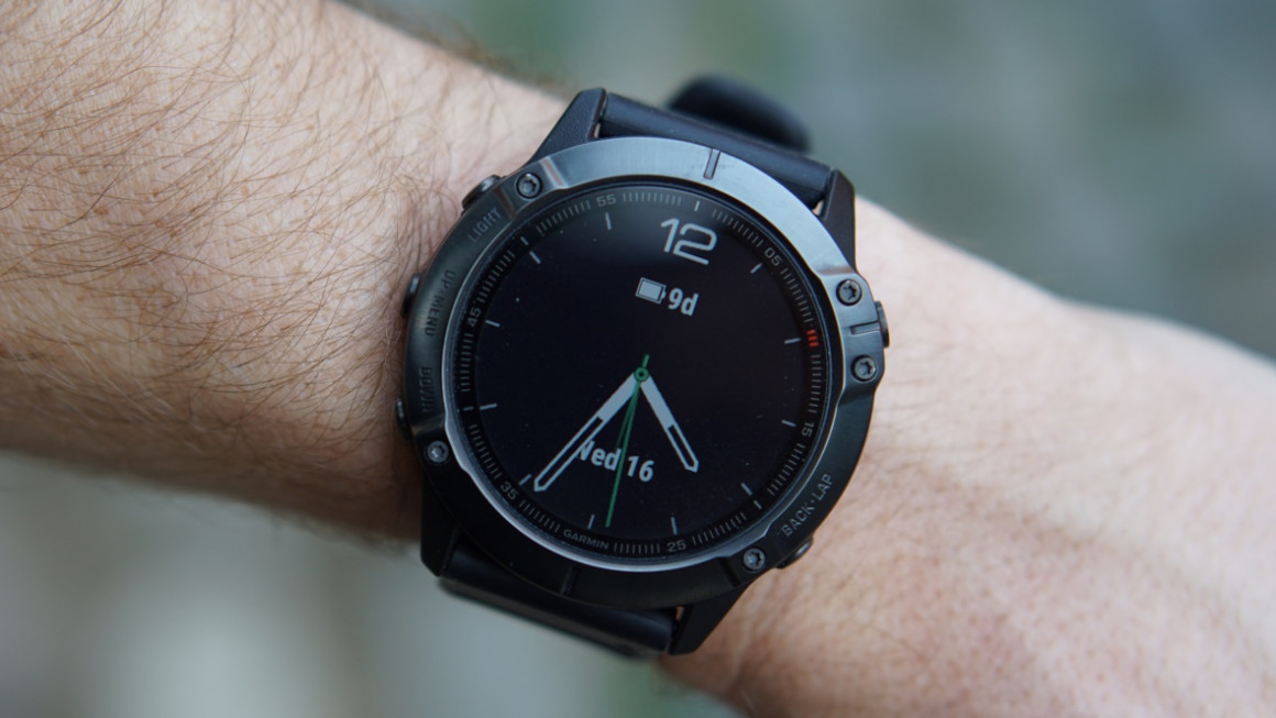 test montre running garmin fenix 6x