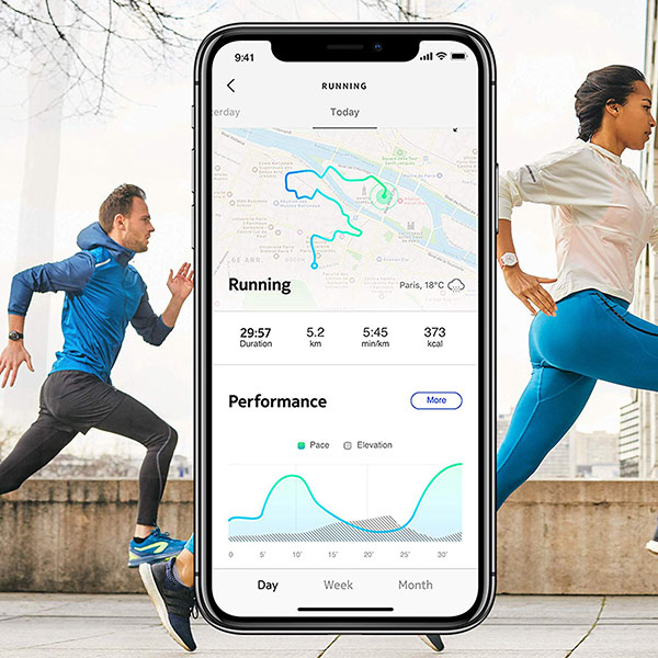 Withings Move ECG gps running