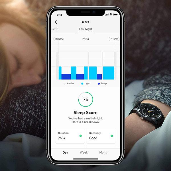 Withings Move ECG suivi qualité sommeil