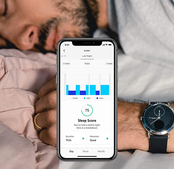 Withings Steel HR Sport qualité sommeil