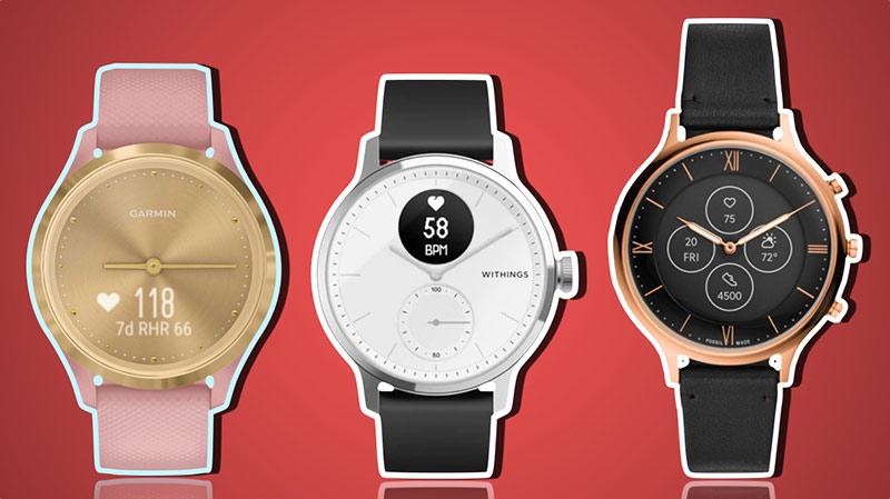 meilleures montres connectées hybrides